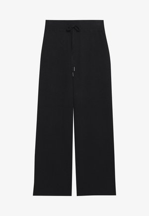 KAMOLLY CULOTTE PANTS - Spodnie materiałowe - black deep