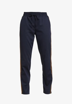 KAEVA 7/8 PANTS - Trousers - midnight marine