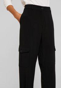 Kaffe - EDA PANTS - Pantalones - black deep - 6