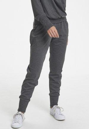 KAPONY  - Spodnie treningowe - dark grey melange