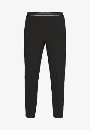 JENNA PANTS - Trousers - black deep