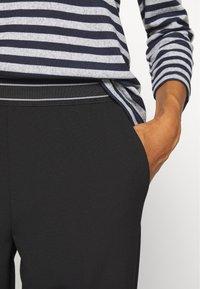 Kaffe - JENNA PANTS - Trousers - black deep - 4