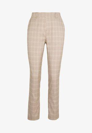 MONI PANTS - Pantalon classique - cobblestone