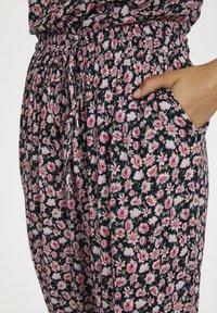Kaffe - KAMARA PANTS - Trousers - aurora pink meadow - 4