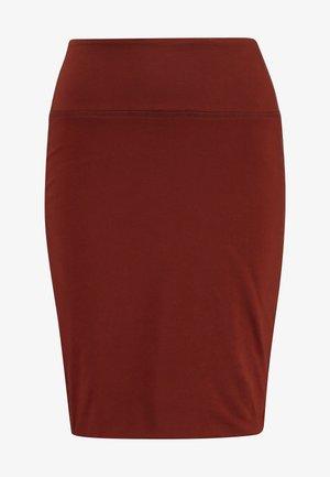 PENNY  - Pencil skirt - cherry mahogany