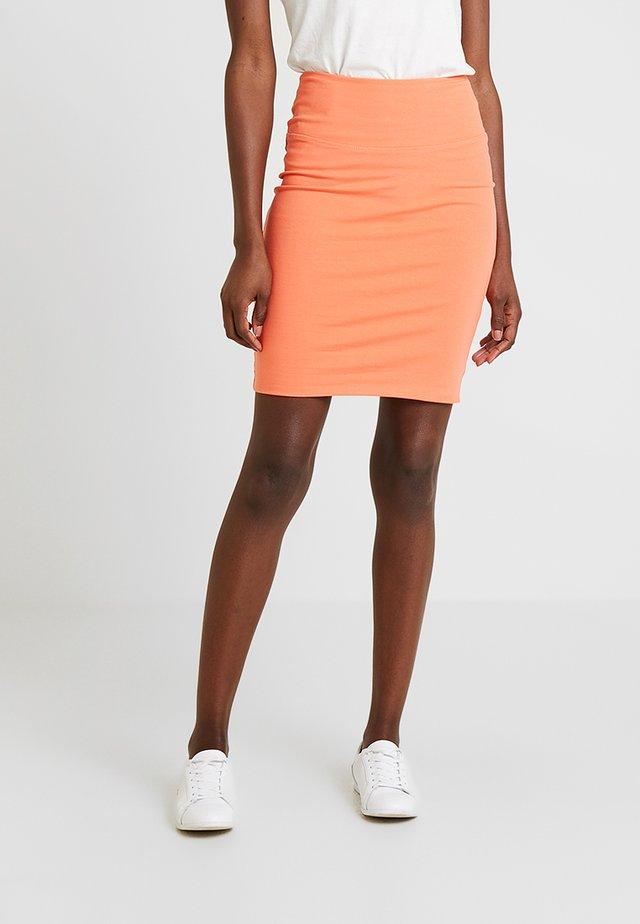 PENNY SKIRT - Pencil skirt - living coral