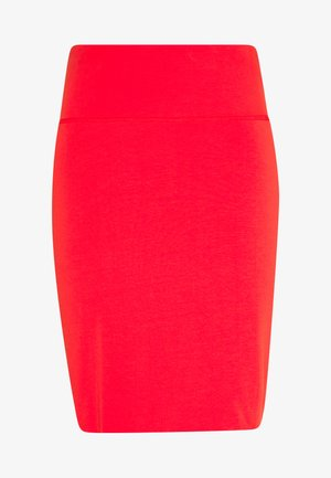 PENNY SKIRT - Pouzdrová sukně - high risk red
