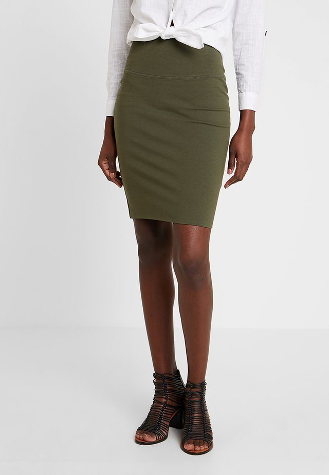 PENNY SKIRT - Pencil skirt - grape leaf