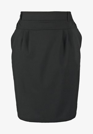 JILLIAN SKIRT - Gonna a tubino - black deep