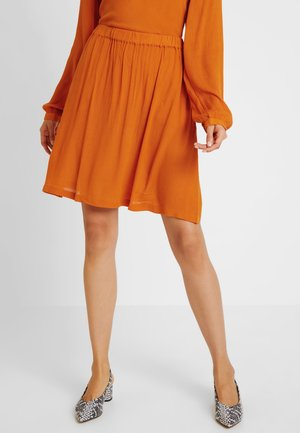 KADALUZ ANNA SKIRT - A-line skirt - burnt orange