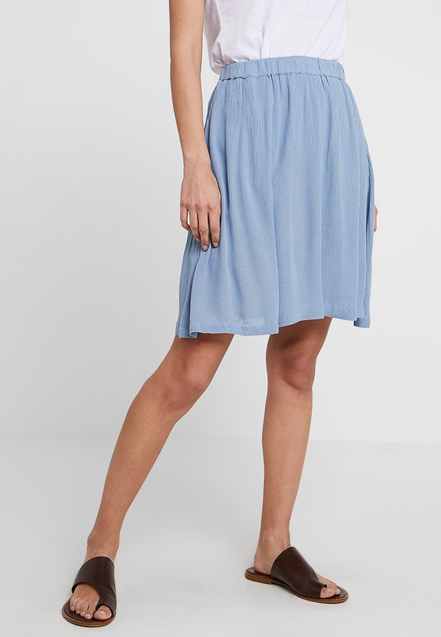 KADALUZ ANNA SKIRT - A-line skirt - faded denim