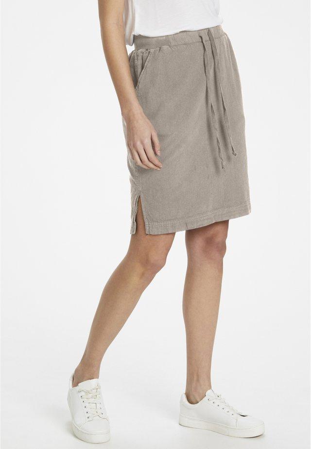 NAYA  - A-line skirt - cobblestone