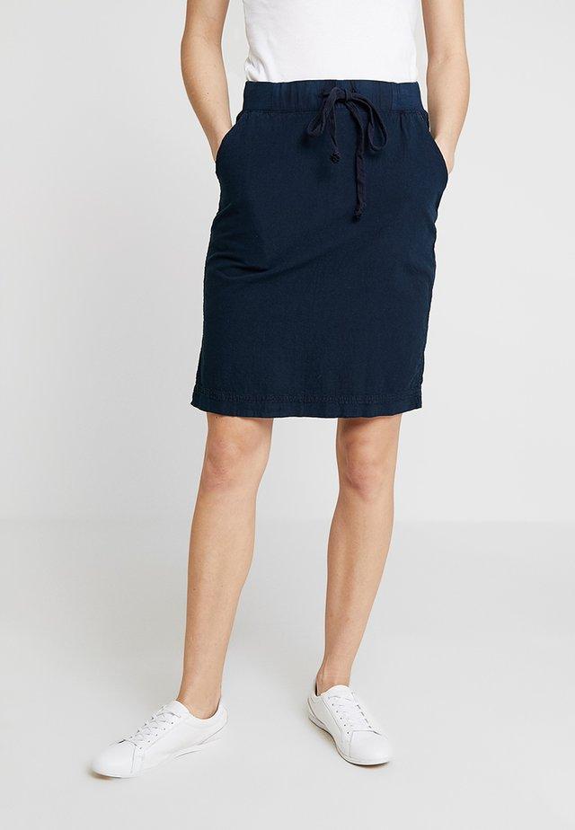 NAYA  - A-line skirt - midnight marine