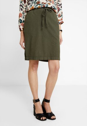 NAYA  - A-line skirt - dusty olive