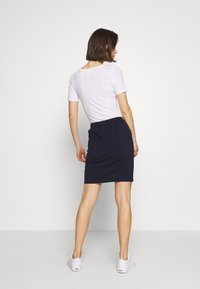 Kaffe - LINDA SKIRT - Pencil skirt - midnight marine - 2
