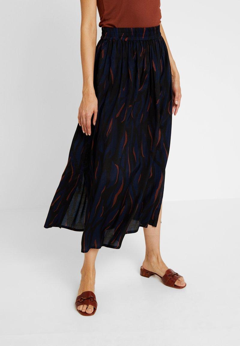 Kaffe - EMMELIE SKIRT - A-line skirt - midnight marine