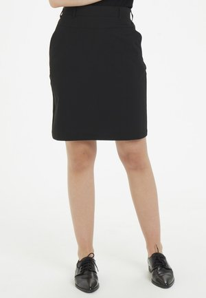 JILLIAN SARA  - Spódnica trapezowa - black