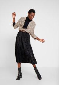 Kaffe - ERIKA SKIRT - A-line skirt - black deep - 1