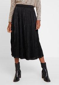 Kaffe - ERIKA SKIRT - A-line skirt - black deep - 0