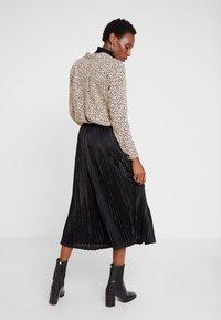 Kaffe - ERIKA SKIRT - A-line skirt - black deep - 2