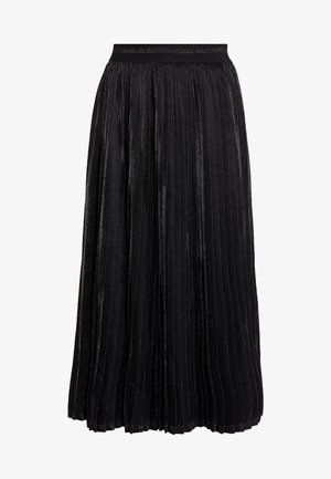 ERIKA SKIRT - Spódnica trapezowa - black deep