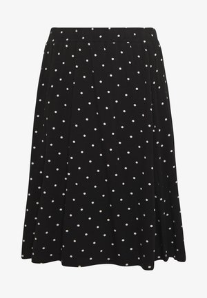 KAHAZEL SKIRT - A-Linien-Rock - black deep