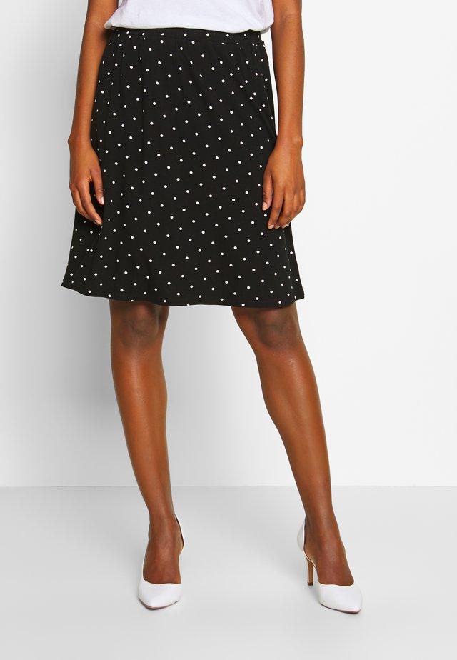KAHAZEL SKIRT - A-line skirt - black deep