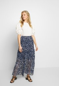 Kaffe - KAFIONA SKIRT - Gonna lunga - midnight marine - 1