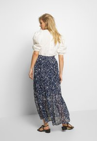 Kaffe - KAFIONA SKIRT - Gonna lunga - midnight marine - 2