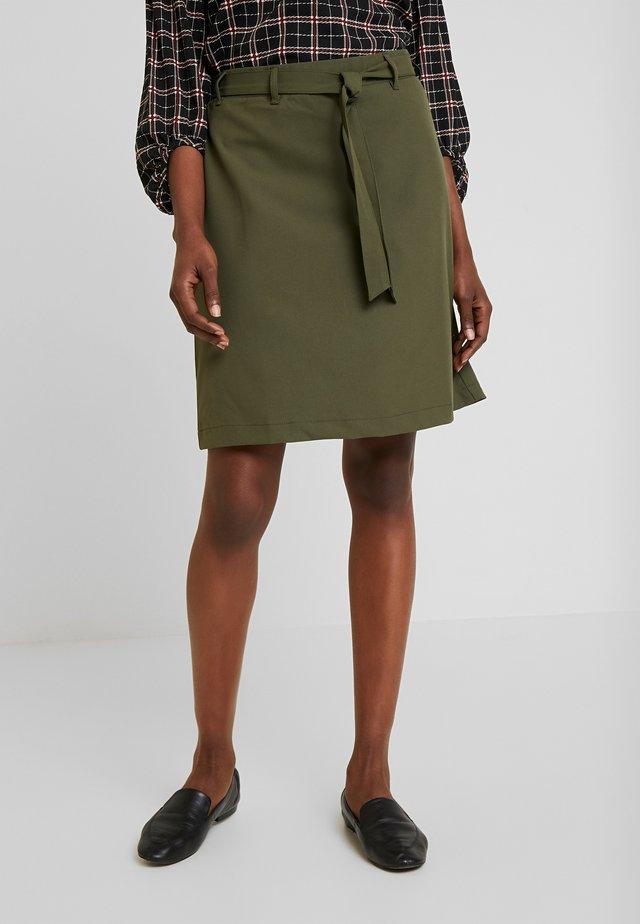 KAJILJA SKIRT - A-line skirt - grape leaf