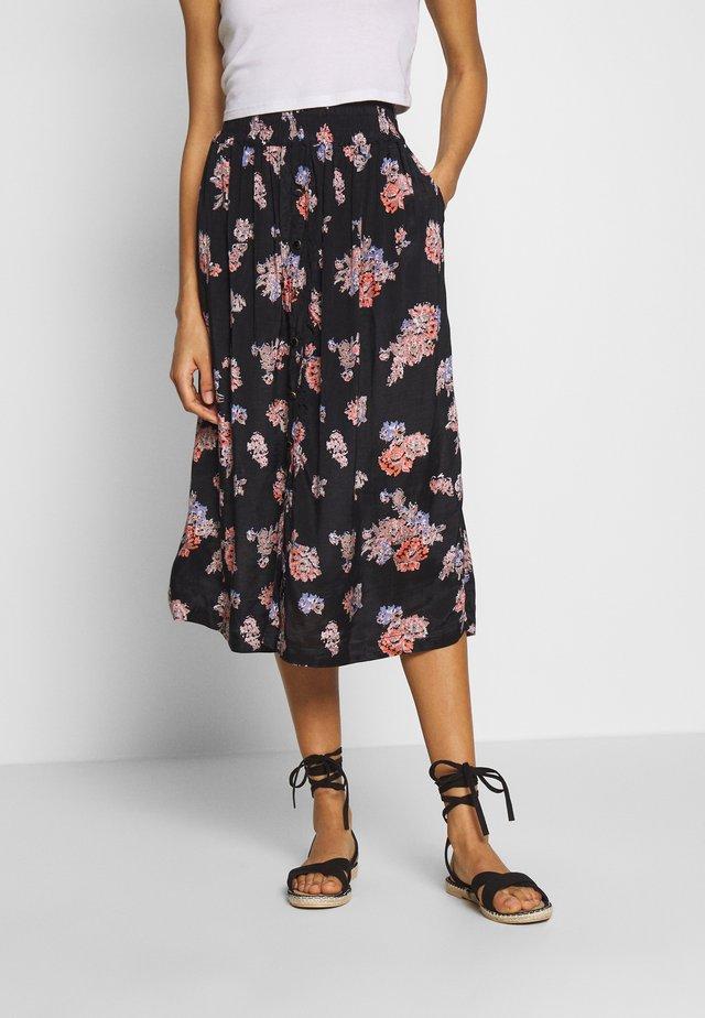 KAVELANA SKIRT - A-line skirt - black deep