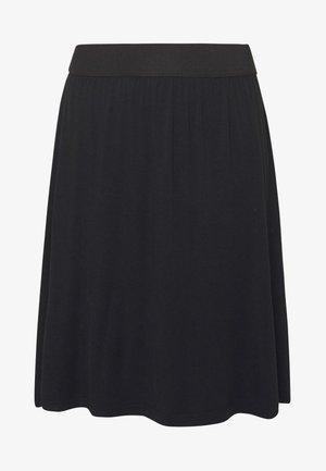 KAWILLE SKIRT - Áčková sukně - black deep
