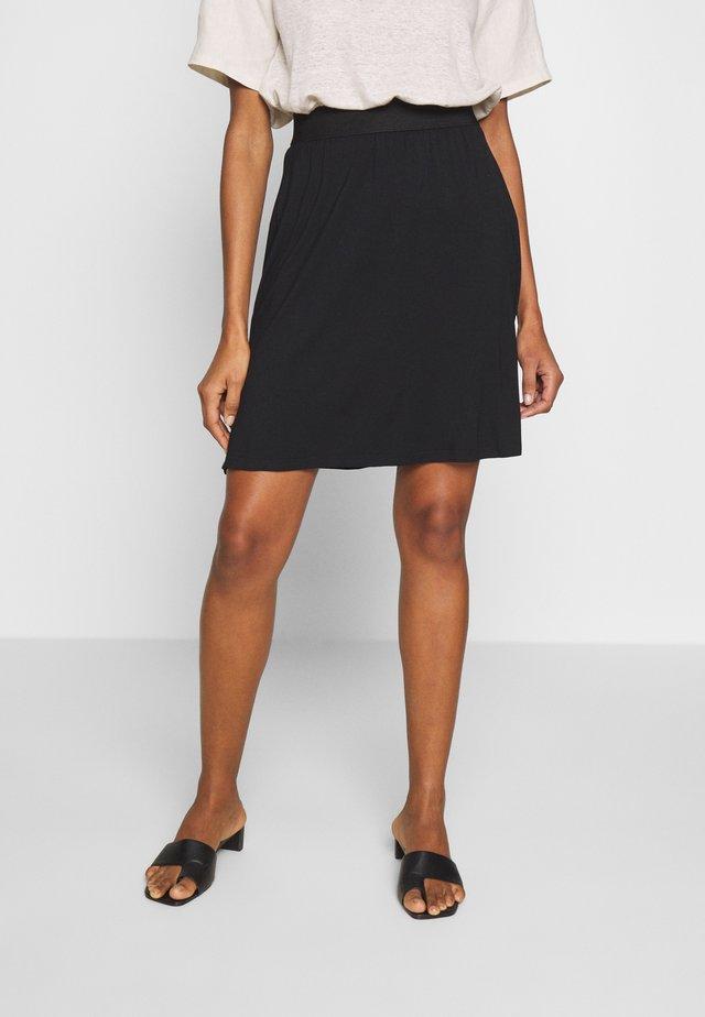 KAWILLE SKIRT - A-line skirt - black deep