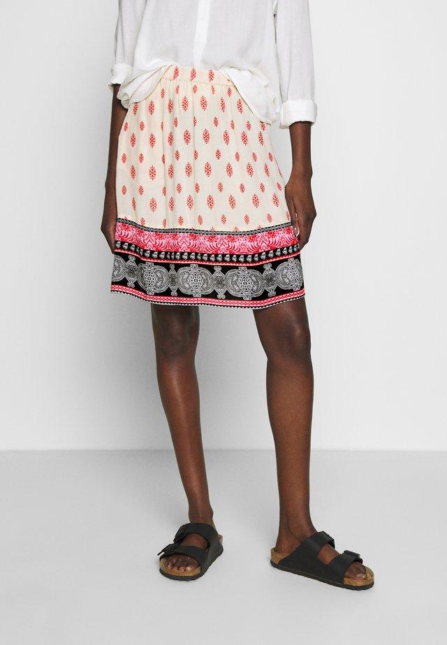 MERKA AMBER SKIRT - A-line skirt - tapioca