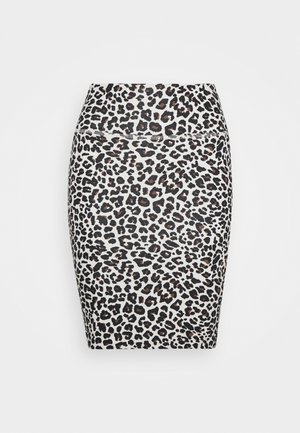 KAELISE PENNY SKIRT - Pencil skirt - silver gray