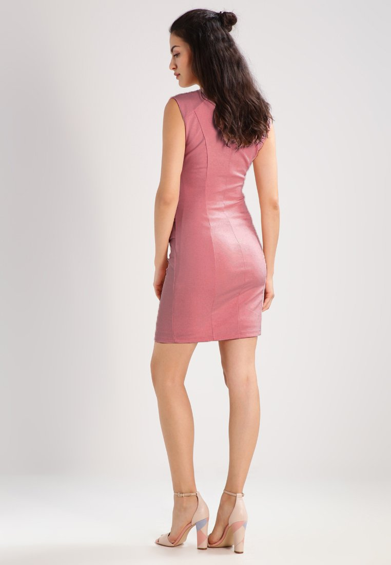 Kaffe India V-neck Dress - Fodralklänning Evening Rose bkcEmk5