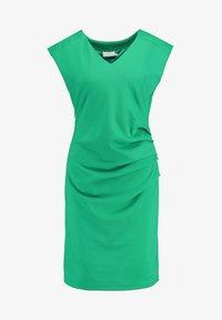 Kaffe - INDIA V-NECK - Pouzdrové šaty - fern green - 5