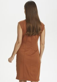 Kaffe - INDIA V-NECK DRESS - Tubino - sierra - 2