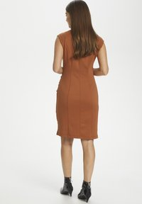 Kaffe - INDIA V-NECK DRESS - Tubino - sierra - 3