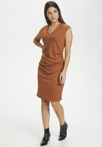 Kaffe - INDIA V-NECK DRESS - Tubino - sierra - 1