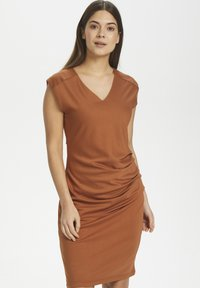 Kaffe - INDIA V-NECK DRESS - Tubino - sierra - 0