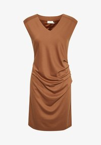 Kaffe - INDIA V-NECK DRESS - Tubino - sierra - 5