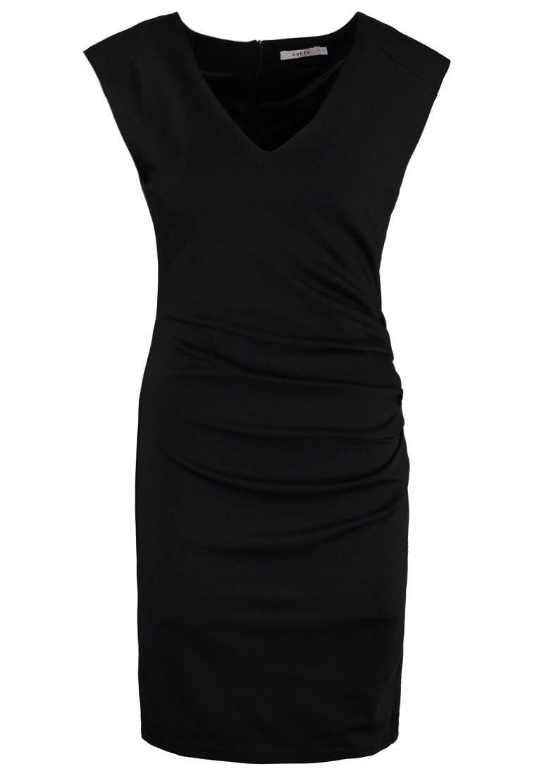 Kaffe India V-neck Dress - Tubino Chalk ZfIDF