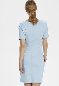 Kaffe - INDIA V-NECK - Shift dress - blue - 2