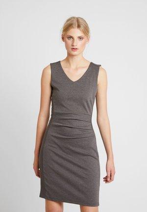 SARA DRESS - Robe fourreau - dark grey melange