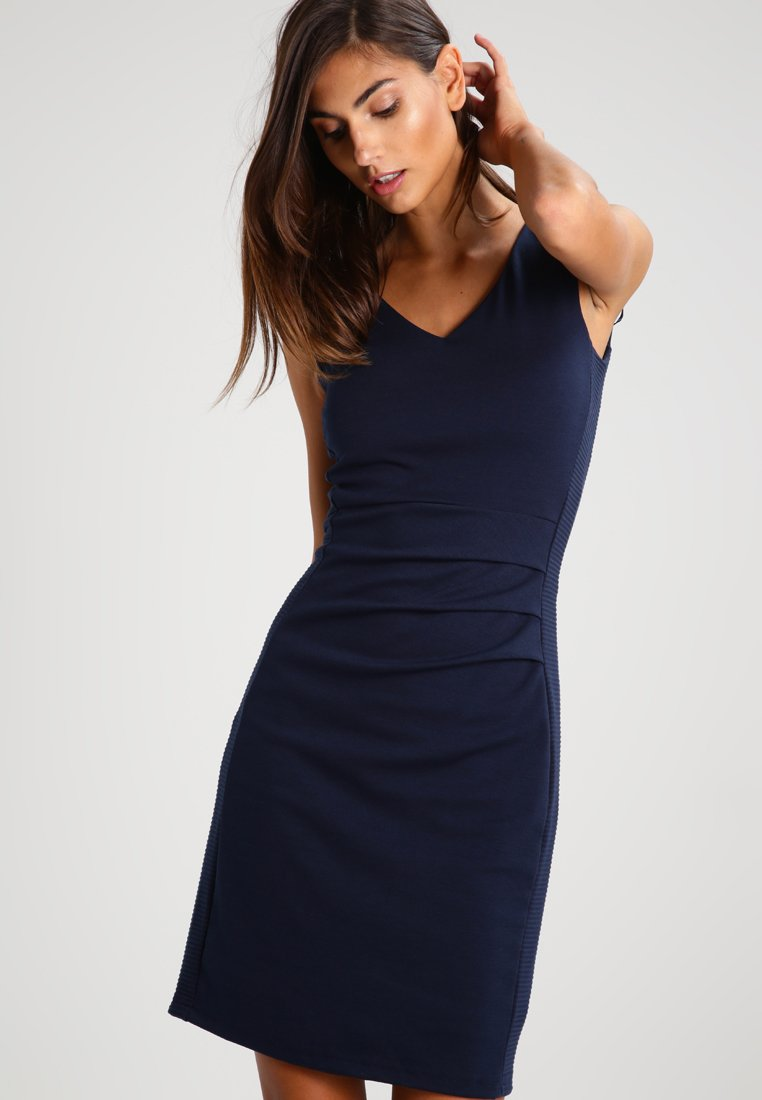 Kaffe - SARA DRESS - Etui-jurk - midnight marine