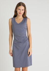 Kaffe - SARA DRESS - Shift dress - folkstone gray - 0