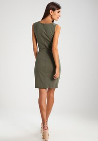 Kaffe - SARA DRESS - Kotelomekko -  old green - 2