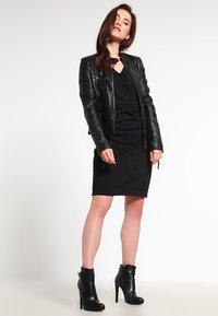 Kaffe - SARA DRESS - Shift dress - black deep - 1