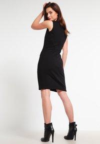 Kaffe - SARA DRESS - Shift dress - black deep - 2